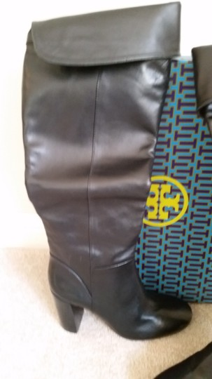 Tory Burch Devon Devon Knee High Black Boots Image 7