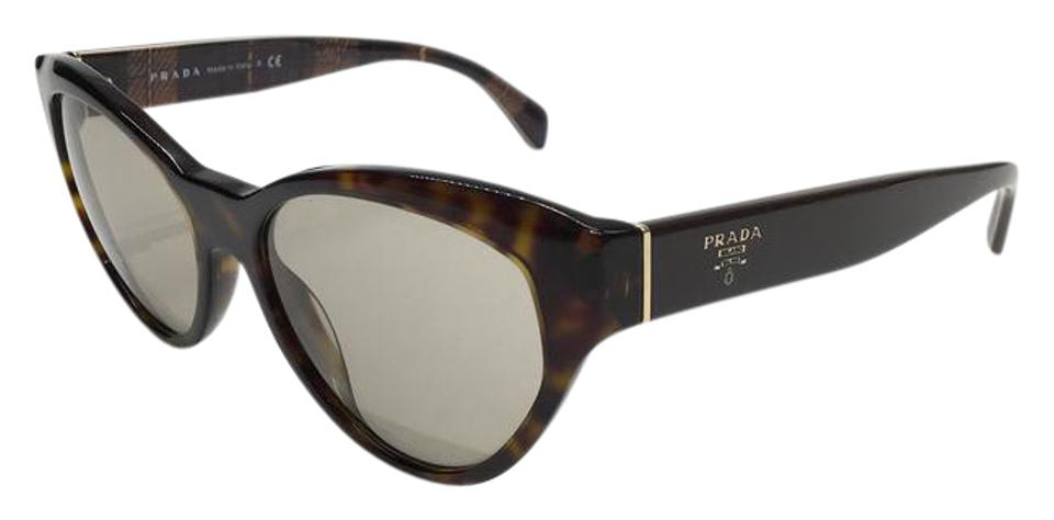75ca5f9b0583c Prada Brown Tortoise Shell   Gray Gradient Lens Cute Petite Cat Eye Spr 08s  2au5j2 Free 3 Day Shipping Sunglasses