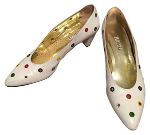 Walter Steiger White base with multi-colored embedded Pumps