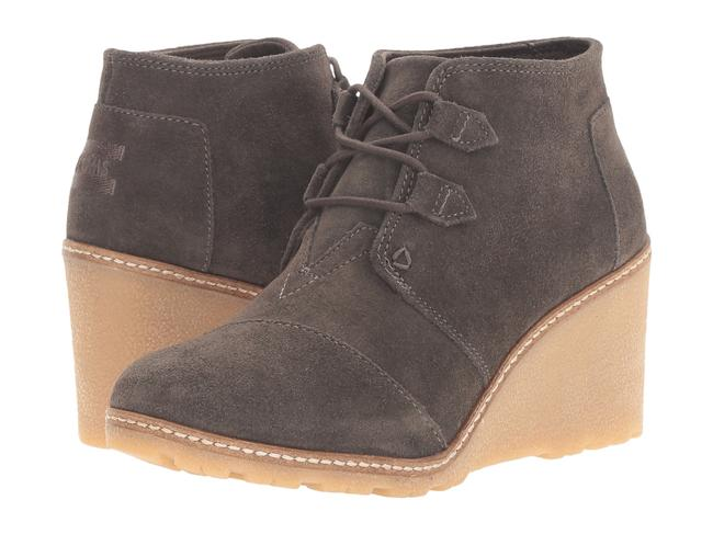 Item - Olive Desert Wedge Boots/Booties Size US 6 Regular (M, B)