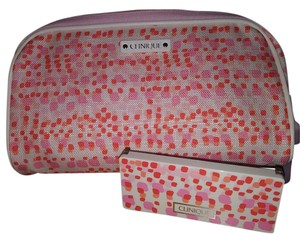 Clinique Clinique cosmetic bag w/matching 6pc eyeshadow