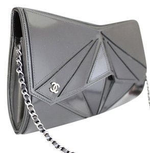Chanel Midnight Swim Origami Black Clutch
