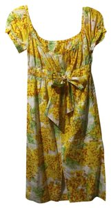 Diane von Furstenberg short dress Floral on Tradesy