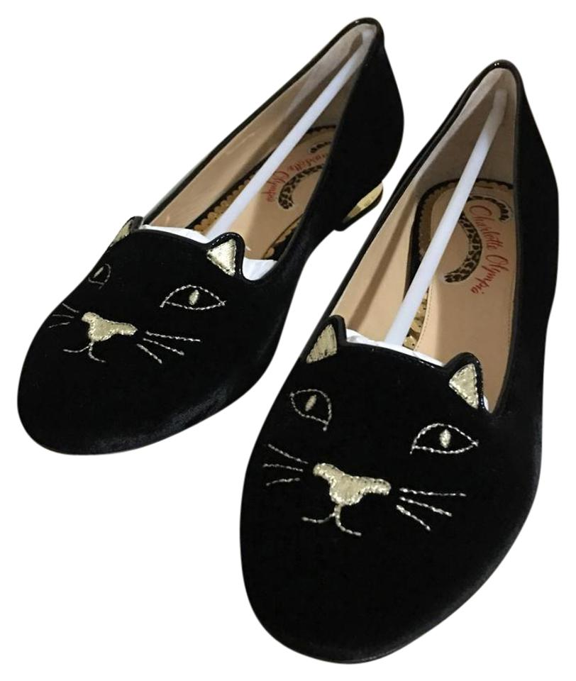Ladies Charlotte Flats Olympia Black E001139vmc0002 Flats Charlotte Orders are welcome dacb32