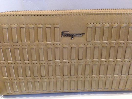 Salvatore Ferragamo SALVATORE FERRAGAMO AUTHENTIC NWT WOVEN TASSEL ZIP AROUND WALLET