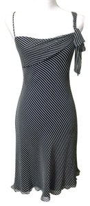 Laundry by Shelli Segal Formal Chinese Striped Silk Dress