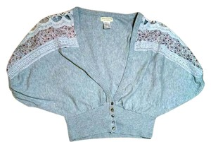Moon Collection Cardigan Size Small Top gray