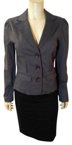 Grass Collection Jacket Size Medium gray Blazer