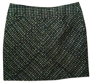 FORENZA Size 4 Small Skirt black tweed