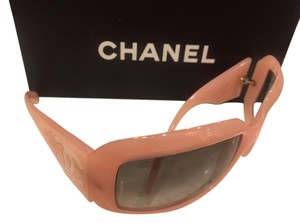 Chanel Chanel Pink Sunglasses with gradient lenses