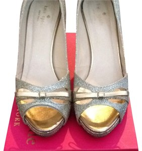 Kate Spade Gold Glitter Formal