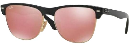 184af9b515c Ray-Ban Ray-Ban Rose Gold Oversized Clubmaster Sunglasses Image 0 ...