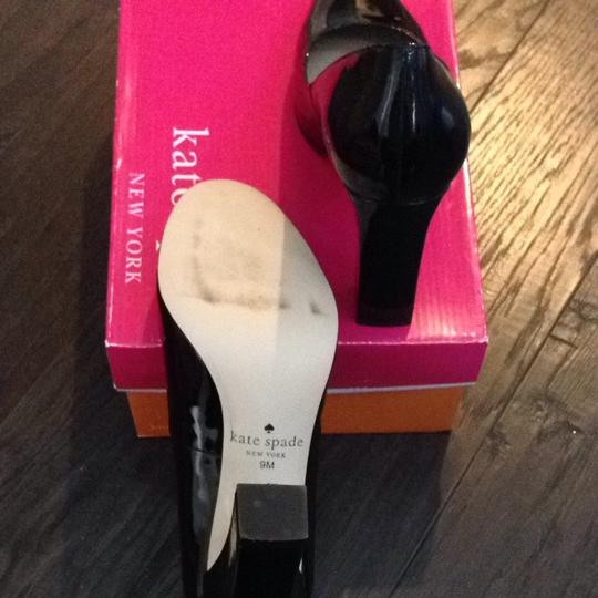 Kate Spade Black Patent Pumps
