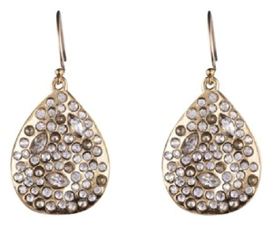 Alexis Bittar Miss Havisham Crystal Encrusted Teardrop Earrings NWOT