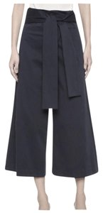 Tibi Wide Leg Pants black