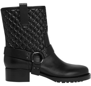 Valentino Quilted Black Boots