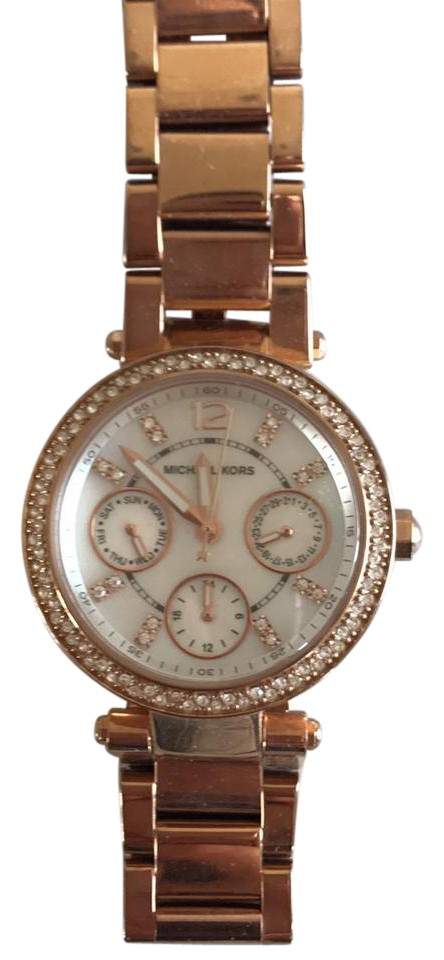 46ea933eb3e6 Michael Kors Rose Gold Mk-5616 Watch - Tradesy