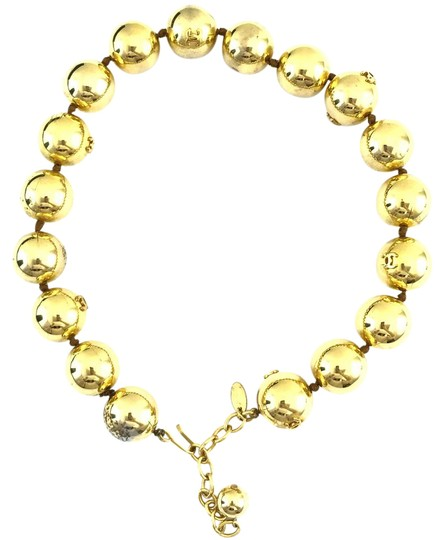 Preload https://img-static.tradesy.com/item/22040318/chanel-gold-13848-rare-cc-bead-ball-chain-choker-necklace-0-1-540-540.jpg