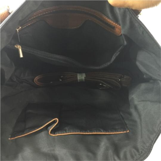 Black & Tan Handbag Shoulder Bag