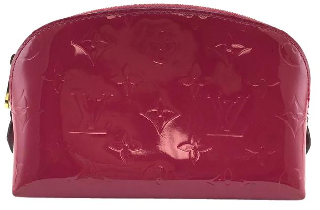 Item - Cosmetic Pouch Vernis Pink Patent Leather Clutch