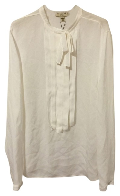 Preload https://item2.tradesy.com/images/burberry-white-london-shirt-blouse-size-12-l-2204171-0-0.jpg?width=400&height=650