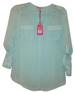 Candie's Top Mint green