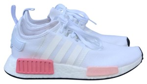 Adidas White New Womens Nmd Pink Accent Sneakers Size Us 7 Regular