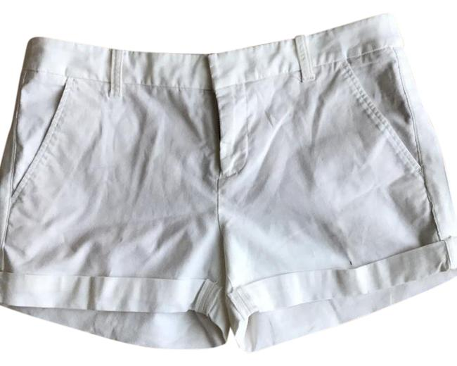 Item - Winter White Cuffed Shorts Size 4 (S, 27)