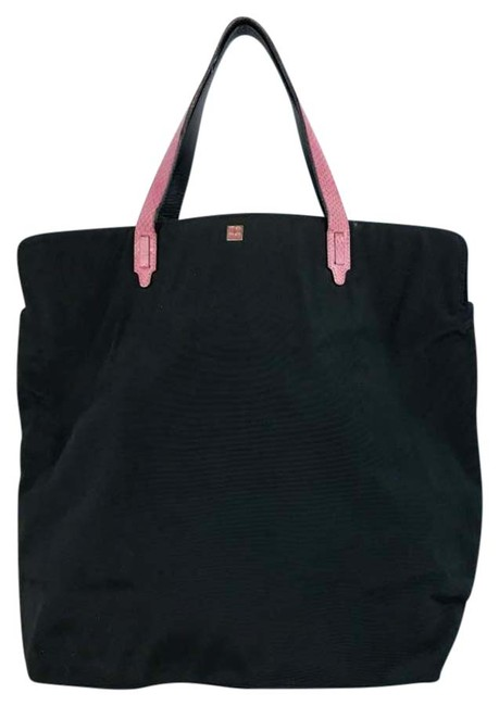 Item - Black/Pink Nylon Tote