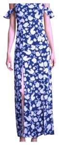 Blue Maxi Dress by Lucca Couture