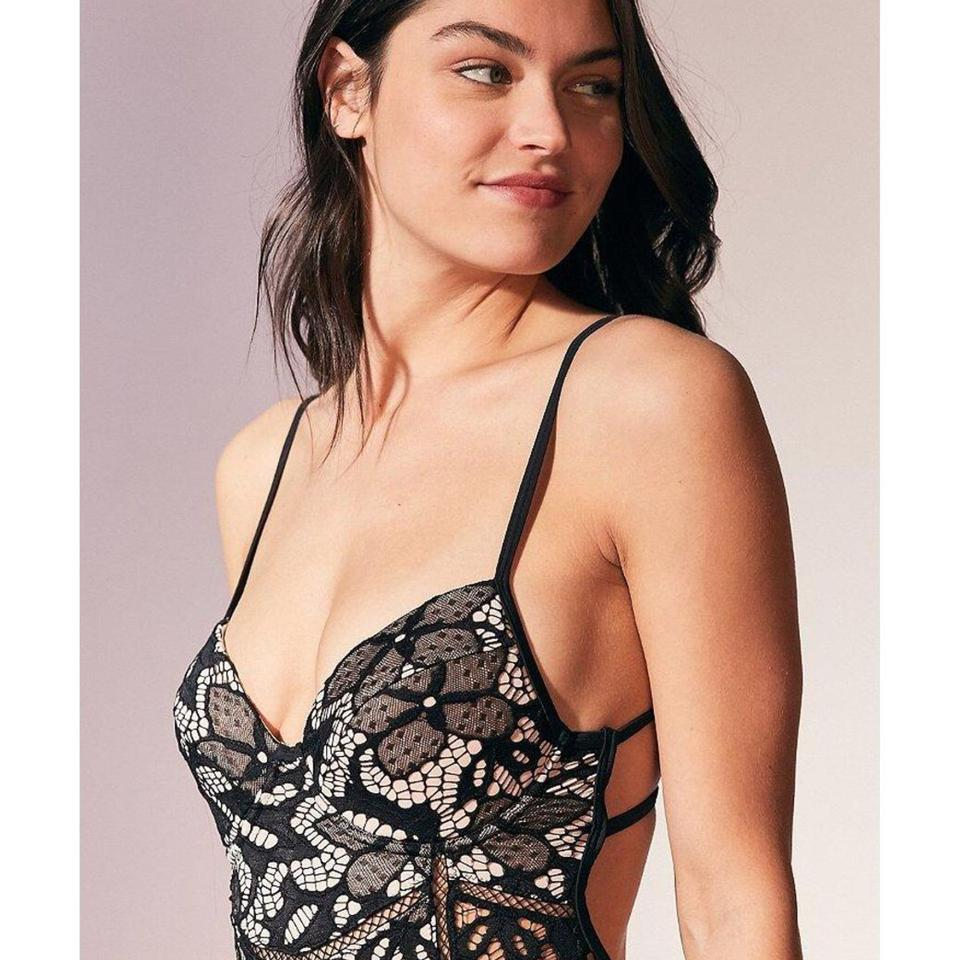 de37077d18 Somedays Lovin Lovers In Light One Piece Swimsuit Floral Lace Image 11.  123456789101112