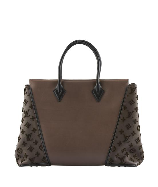 Item - W Gm Gris Orfevre and Veau Cachemire (133943) Brown / Black / Multi-color Leather Tote