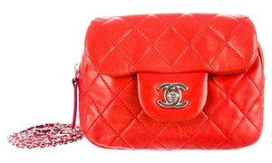 Chanel Classic Flap Woc Mini Wallet On A Chain Cross Body Bag
