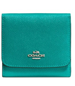 Coach coach Small Wallet in Crossgrain Leather 57725