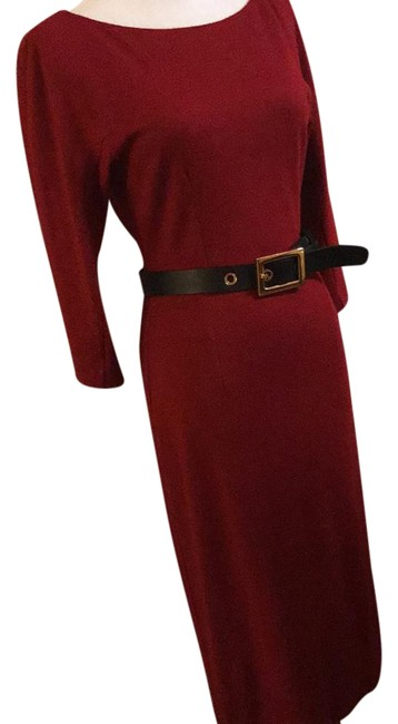 Item - Red Cocktail Mid-length Formal Dress Size 0 (XS)