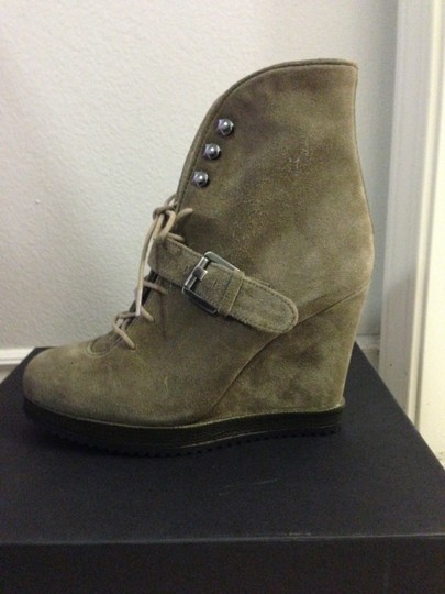 Surface to Air Leather Wedge Ankle taupe suede Boots Image 2
