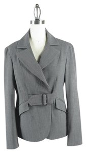 Jenne Maag Belted Wool Gray Jacket