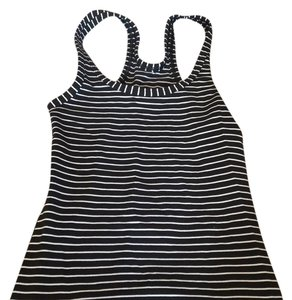 Lululemon black white striped
