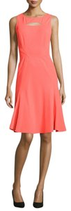 Zac Posen short dress spiced coral on Tradesy