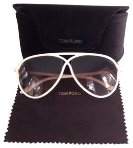 cf13ecc795 White Tom Ford Sunglasses - Up to 70% off at Tradesy