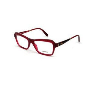 Miu Miu MU02NV-TFH-1O1 Butterfly Womens Burgundy Frame 52mm Genuine Eyeglasses