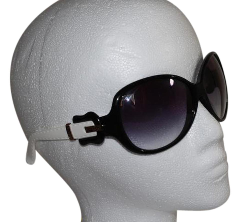36213c05 Fendi Black&white Fs382 Ladies Plastic Buckle Sunglasses - Tradesy