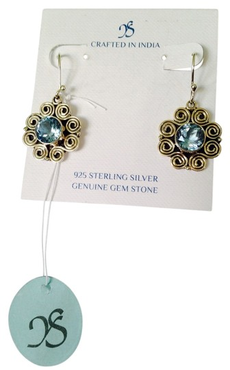 Preload https://img-static.tradesy.com/item/2204695/js-collections-bluesilver-faceted-topaz-4-cts-and-sterling-scroll-design-dangle-earrings-0-0-540-540.jpg