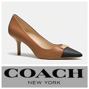 Coach Black and Brown Pumps