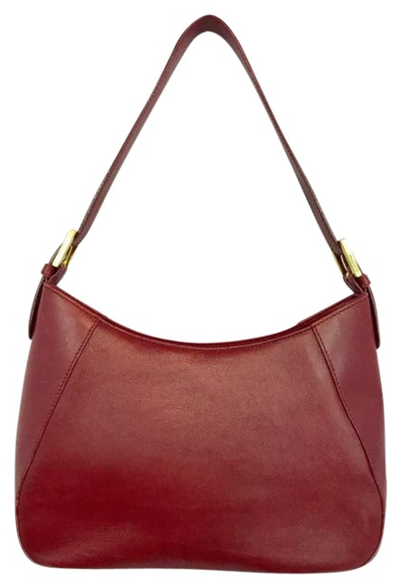 Item - Red Leather Shoulder Bag