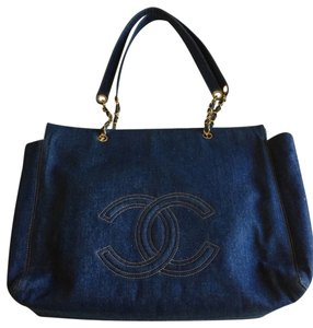 Chanel Tote in Denium Blue