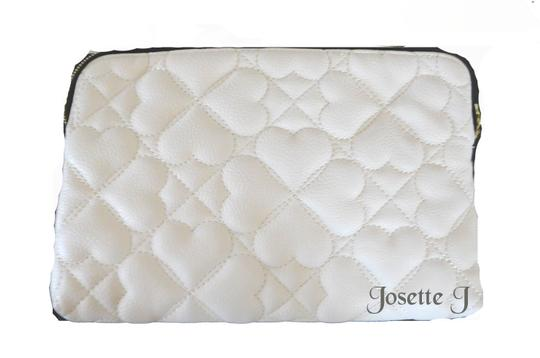 Betsey Johnson Triple Entry Pearl Studs Cross Body Bag Image 2
