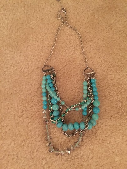 Ann Taylor LOFT Teal Loft Necklace