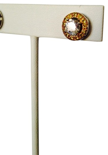 Other White & Yellow Diamonds (Lab Created) Stud Earrings, 3.92 cts Image 1