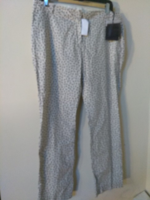 Item - Black White Made In Italy Print Pants Size 8 (M, 29, 30)